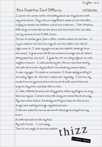 Dani's English Paper